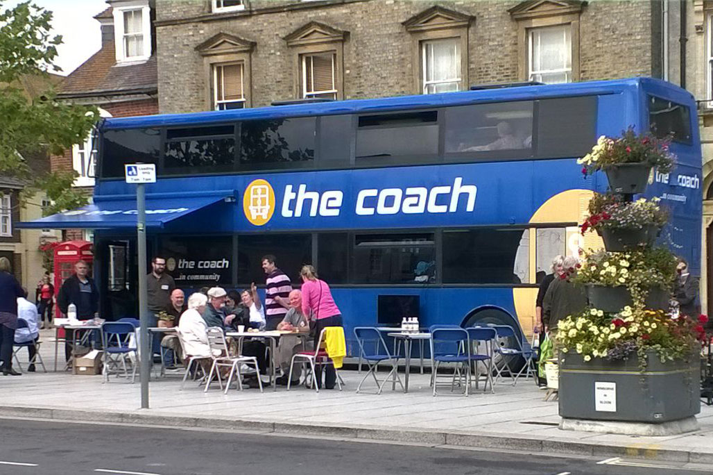 coach in Wimborne